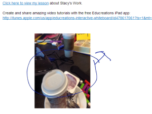 screenshot of visual captured yesterday using evernote and annotated by Educreations