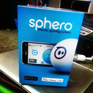 one of our new Sphero kits