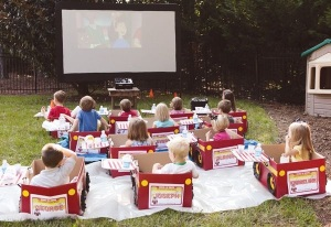 watching lego movies?
